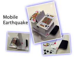 mobile earthquake from bestpartygames co uk