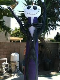 Halloween Inflatable Haunted House by Nightmare Before Christmas 10 Ft Airblown Inflatable Jack