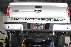2011 2014 ford f150 mbrp ecoboost 3 5l v6 dual rear cat back