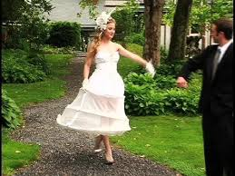 wedding dress hoop hoopskirt 101 the girlfriends guide to wearing a big wedding dress