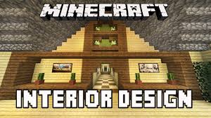minecraft tutorial awesome interior house design tips house