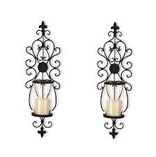 Glass Wall Sconce Candle Holder Glass Wall Sconce Candle Holder Home Design Ideas