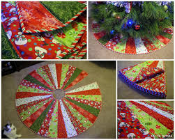 15 things to sew for christmas tree skirts super excited and
