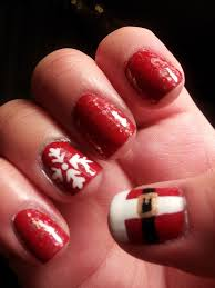 nail designs for christmas nail art
