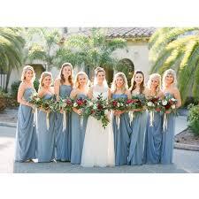 dusty wedding dress gorgeous dusty blue wedding bridesmaid dresses 2016