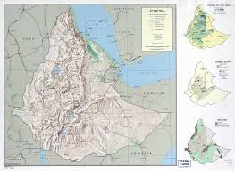 Map Of The World To Scale by Large Scale Detailed Country Profile Map Of Ethiopia 1969