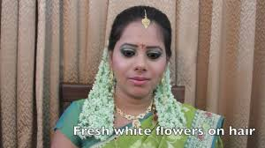 indian bridal hairstyle indian bridal makeup south indian bridal look by makeup info