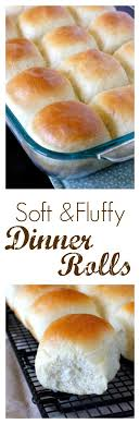 soft and fluffy dinner rolls for thanksgiving dinner