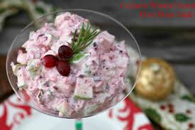 waldorf cranberry salad low calorie healthy food done light