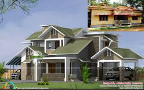 home design consultant 22 years home turned to modern style home kerala home design