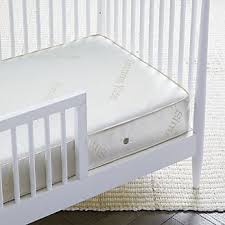 Crib And Toddler Mattress Mattresses Crib Bunk Bed Crate And Barrel