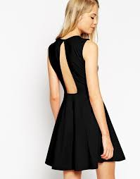 how to cut out the back of a cabinet collection sleeveless skater dress with cut out back detail