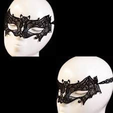 black bat lace mask xstmas party lace masks cat flower full