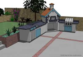 kitchen classy image of l shape outdoor kitchen plans decoration