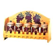 wine kitchen canisters grape canisters for the kitchen genial grape design kitchen