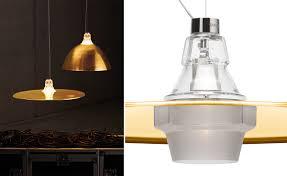 crash u0026 bell suspension lamp hivemodern com