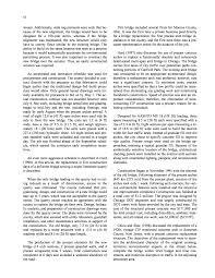chapter four bridge replacement alternatives cost effective