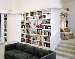 Shelf Floor L Make A Room With L Shaped Bookcase Doherty House