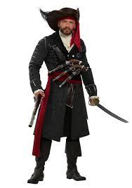 Blackbeards Flag Blackbeard Costume For Plus Size Men