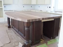 black kitchen island with butcher block top how to seal butcher block island top