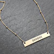 custom sted necklace custom engraved necklace the prettiest necklace 2017