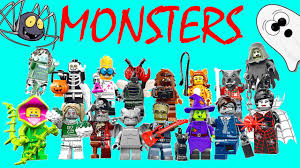 Scary Halloween Monsters by Lego Halloween Monsters New 2015 Surprise Toys Scary Ghost