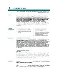 Teacher Resumes That Stand Out 51 Teacher Resume Templates U2013 Free Sample Example