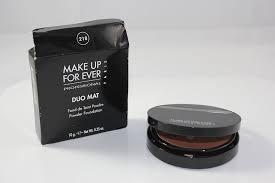 amazon com make up for ever duo mat powder foundation 218