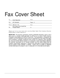 Templates For Fax Cover Sheets Fax Cover Sheet For Resume Forms And Templates Fillable
