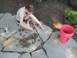 Patio Rocks Learn About Installing Finishing Touches For A Flagstone Patio