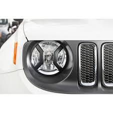 jeep renegade accessories rugged ridge 11230 20 headlight euro guards textured black 15 17