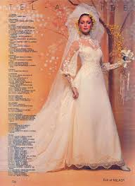 i love eve of milady gowns this is from 1981 and yes i would