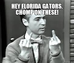 Florida Gator Memes - florida hate week page 3 rivals message boards