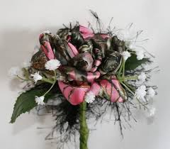 camo flowers camouflage boutonniere