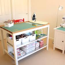 Ikea Stenstorp Kitchen Island by Nearly Finished Organising My Sewing Room The Stenstorp Kitchen