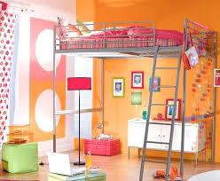 chambre fille avec lit mezzanine chambre fille lit superpose decoration chambre fille avec lit