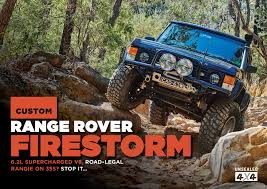modified range rover classic range rover firestorm unsealed 4x4
