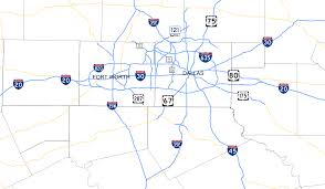 Map Of Dallas Fort Worth by File Dfw Freeways Svg Wikipedia