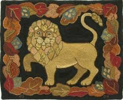 215 best lions images on pinterest rug hooking lions and