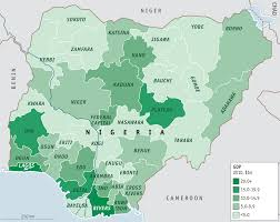 Africa Religion Map by Nigeria Mapping A Nation By Ethnicity Religion Education