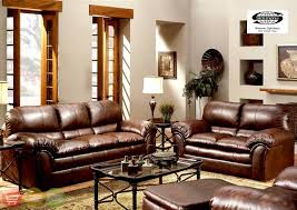rustic living roomsclassic leather light brown sofa set for rustic