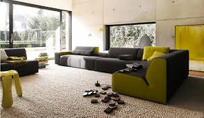 paint color ideas for living room with green couch