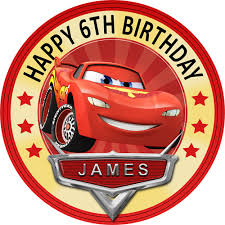 cars cake toppers cars archives sweet tops personalised 100 edible cake and