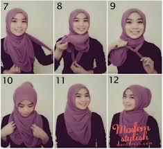 tutorial hijab pashmina tanpa dalaman ninja terbaru tutorial memakai hijab pashmina simpel elegan sebarkanlah