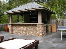 outdoor kitchen idea outdoor fascinating outdoor backyard kitchen ideas with patio