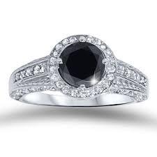Black Diamond Wedding Rings by 72 Best Black Diamond 14k White Gold Images On Pinterest Black