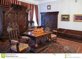 Wooden Furniture Interior With Old Wooden Furniture Editorial Photography Image