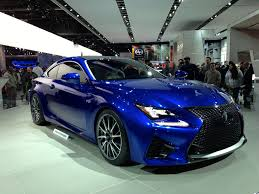 lexus rc f malaysia impressions from the 2014 detroit auto show