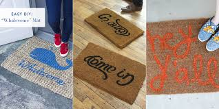 Humorous Doormats Funny Doormats Diy Welcome Mats