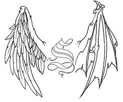 angel wings cross tattoo eemagazine com